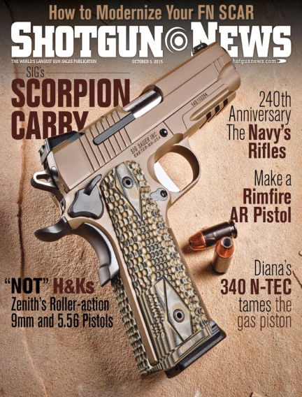 Firearms News September 15, 2015 00:00