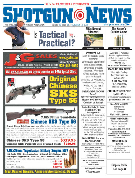 Firearms News October 06, 2015 00:00