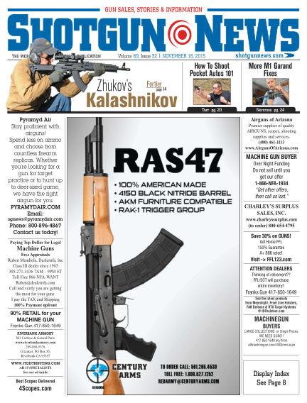 Firearms News November 10, 2015 00:00