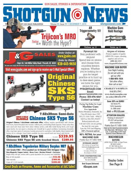 Firearms News December 01, 2015 00:00