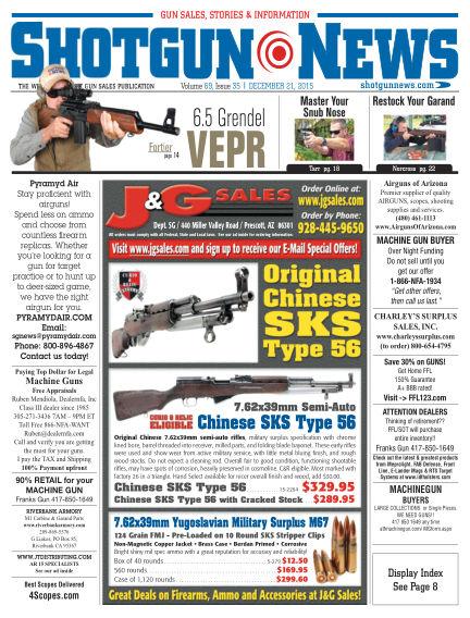 Firearms News December 08, 2015 00:00