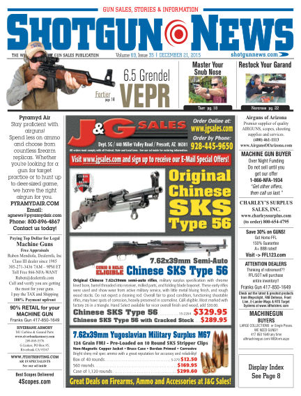 Shotgun News December 08, 2015 00:00