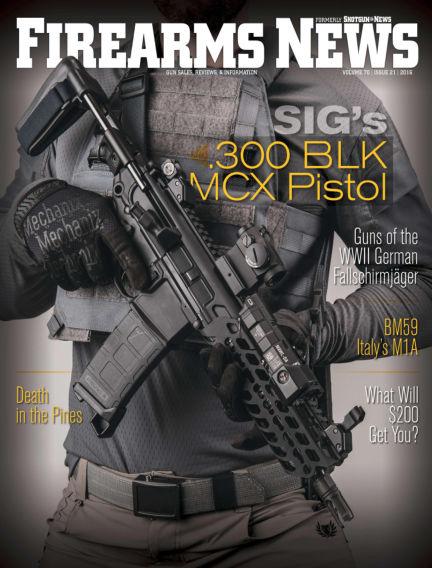 Firearms News September 13, 2016 00:00
