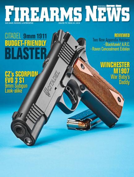 Firearms News October 25, 2016 00:00