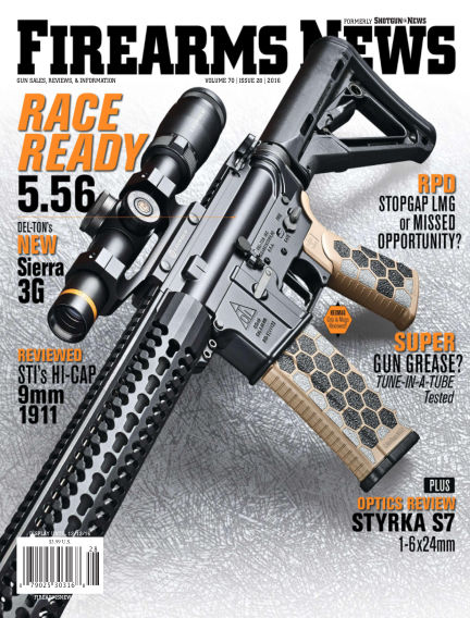 Firearms News November 29, 2016 00:00