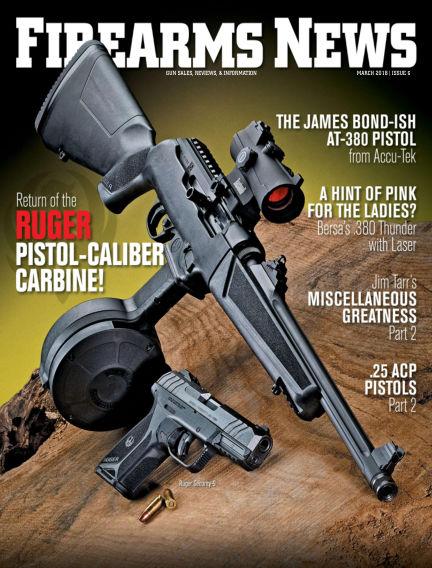 Firearms News March 13, 2018 00:00