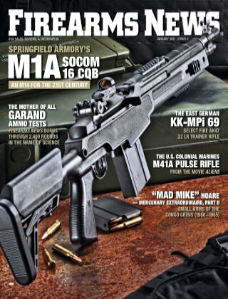 Firearms News Volume 75, Issue 2