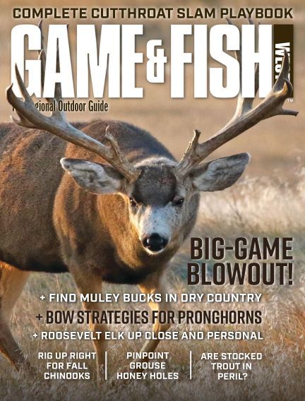 Game & Fish - West August 04, 2020 00:00