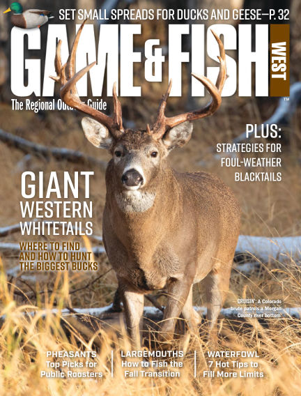 Game & Fish - West October 13, 2020 00:00
