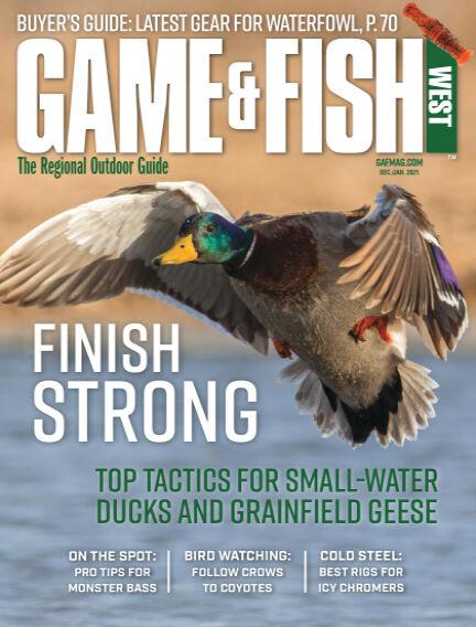 Game & Fish - West November 17, 2020 00:00