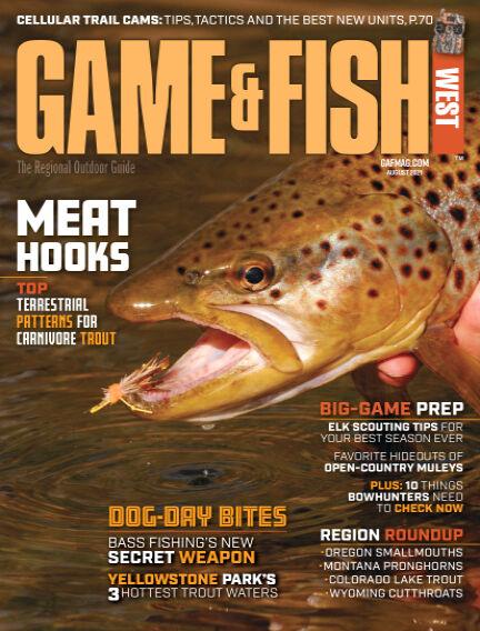 Game & Fish - West June 29, 2021 00:00