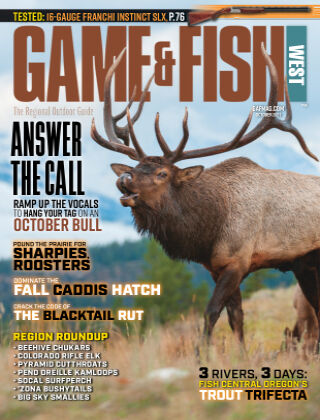 Game & Fish - West October