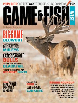 Game & Fish - West November