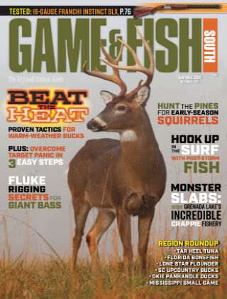 Game & Fish - South October