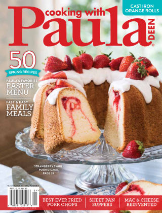 Cooking with Paula Deen March/April 2018