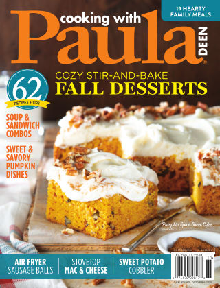 Cooking with Paula Deen October 2020