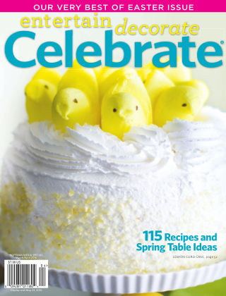 Entertain Decorate Celebrate March/April 2016