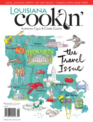 Louisiana Cookin' May/June 2015