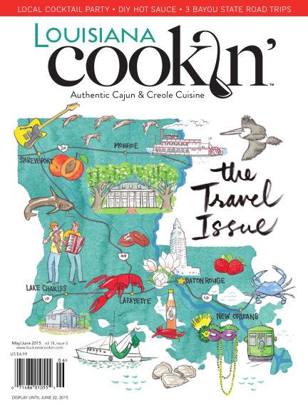 Louisiana Cookin' April 10, 2015 00:00