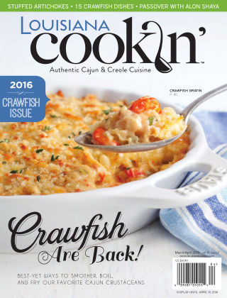 Louisiana Cookin' March/April 2016