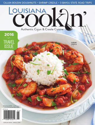 Louisiana Cookin' MayJune 2016
