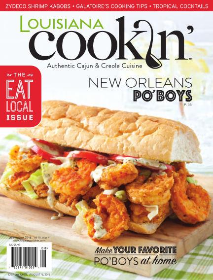 Louisiana Cookin' June 07, 2016 00:00