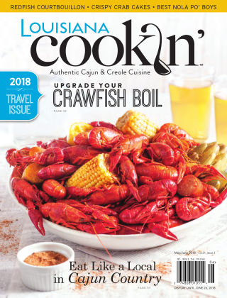 Louisiana Cookin' May/June 2018