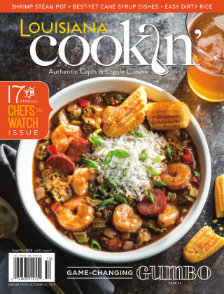 Louisiana Cookin' Sept/Oct 2018