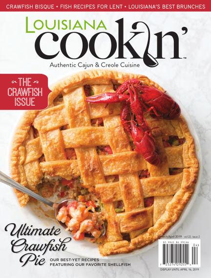 Louisiana Cookin' January 29, 2019 00:00