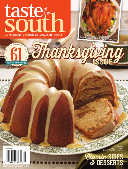 Taste of The South October 09, 2015 00:00