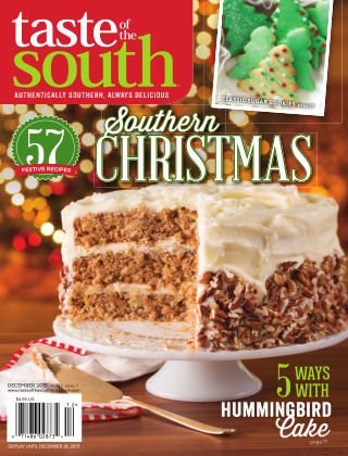 Taste of The South DECEMBER 2015