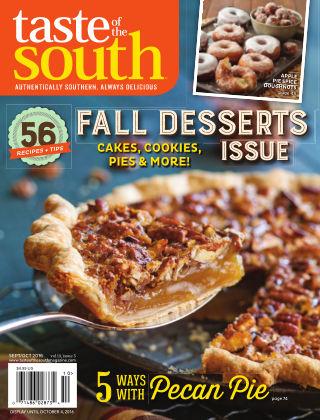 Taste of The South Sept/Oct 2016