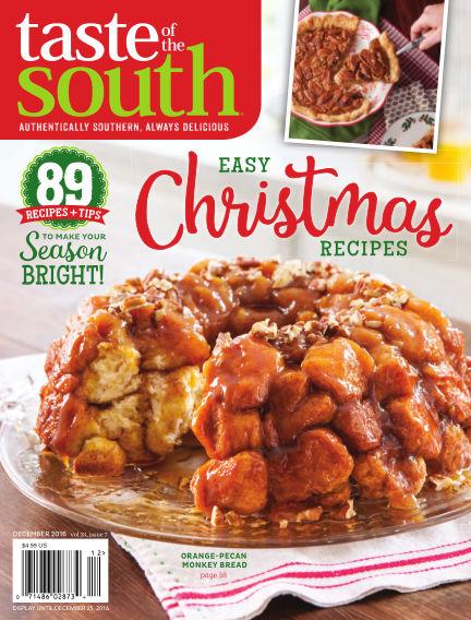 Taste of The South November 01, 2016 00:00
