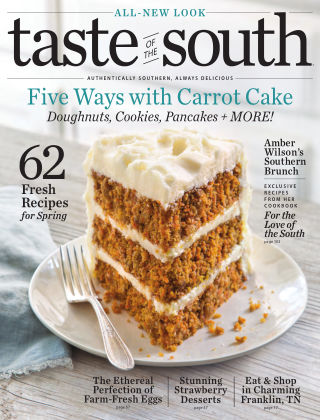 Taste of The South March/April 2018