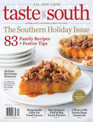 Taste of The South Nov/Dec 2018