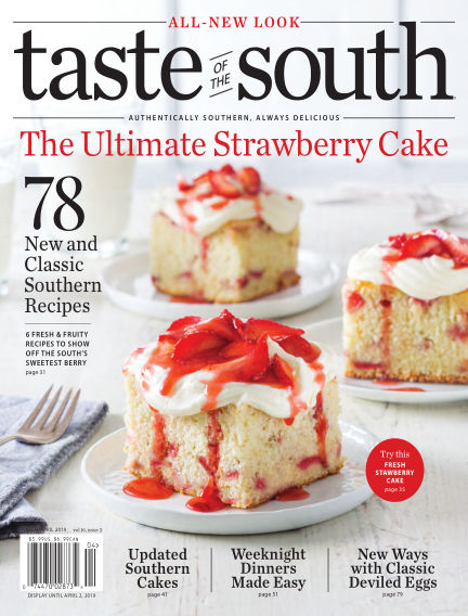 Taste of The South January 22, 2019 00:00
