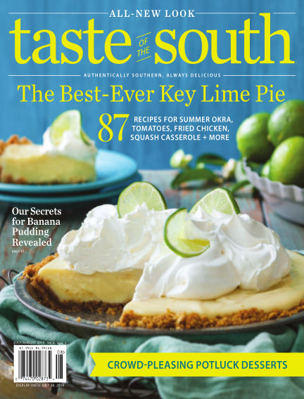 Taste of The South May 21, 2019 00:00