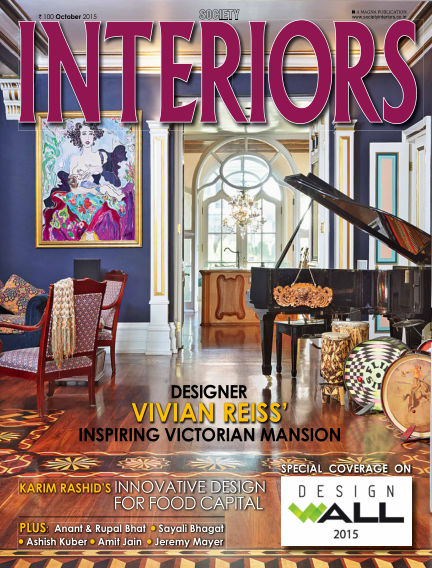 SOCIETY INTERIORS October 08, 2015 00:00