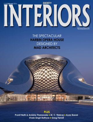 SOCIETY INTERIORS February 2016