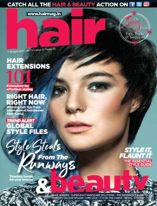 Hair April  2021