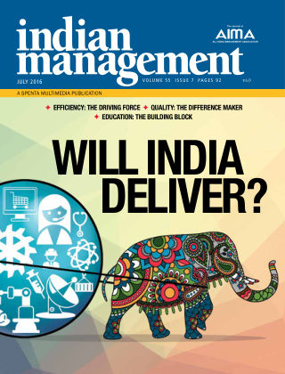 Indian Management July 2016