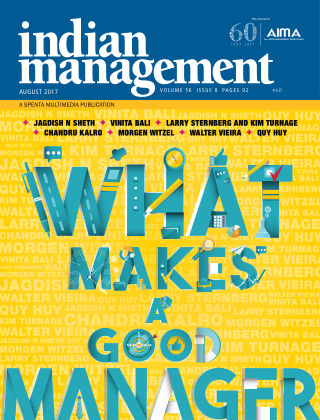 Indian Management Aug 2017
