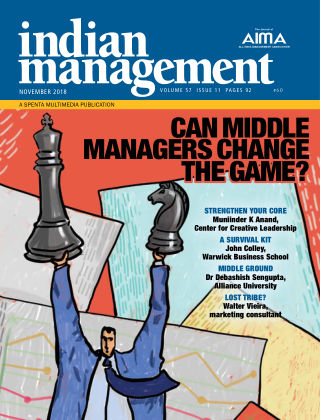 Indian Management November 2018