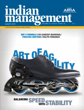 Indian Management August 2019