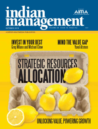 Indian Management October 2019