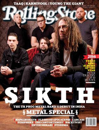 Rolling Stone India January 2015