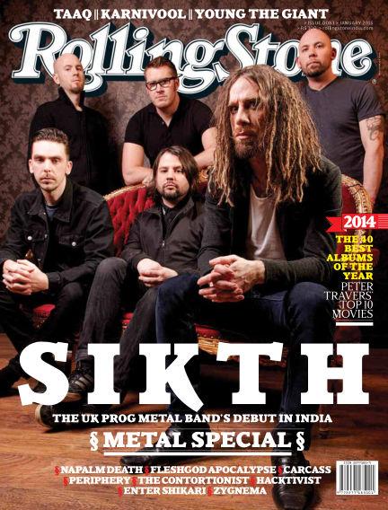 Rolling Stone India January 13, 2015 00:00