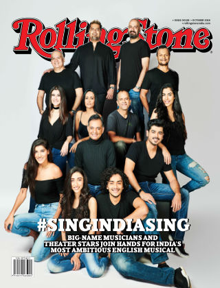Rolling Stone India October 2018