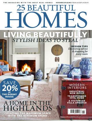 25 Beautiful Homes November 2013