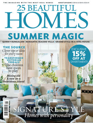 25 Beautiful Homes August 2014